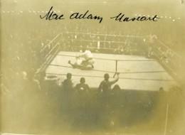 France Paris Sport Boxe Match Mac Adam Mascart Ancienne Photo 1923 - Sports