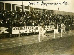 Paris Course Athletisme France Belgique 5000m Duquesne Ancienne Photo Juin 1923 - Sports