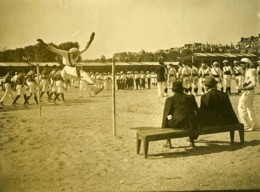 Paris Match Athletisme France Belgique Saut En Hauteur Ancienne Photo Juin 1923 - Sports