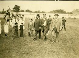 Paris Match Athletisme France Belgique ? Spectateurs Ancienne Photo Juin 1923 - Sports