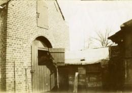 France Région Nord Cheval Ecurie Ancienne Photo 1900 - Photographs