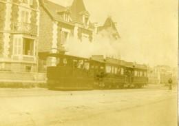 France Bretagne Paramé Tramway De St Servan Saint Malo Ancienne Photo 1900 - Lieux