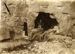 France Hucqueliers Carriere De Pierre ? Ancienne Photo 1900 - Photographs
