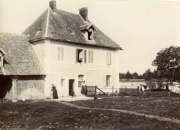 France Villers Un Dimanche à La Campagne Maison Vache Ancienne Photo 1900 - Photographs