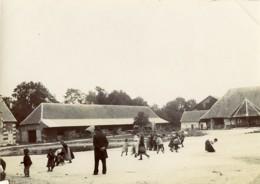 France Villers Dimanche à La Campagne Groupe D'Enfants Ancienne Photo 1900 - Photographs