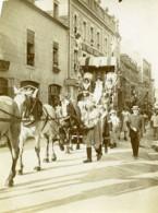 France Procession Historique Chevaux Costumes Ancienne Photo 1900 - Places