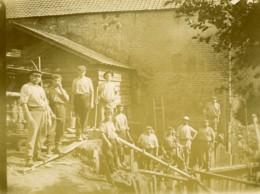 France Ouvriers De La Scierie Ancienne Photo 1900 - Professions