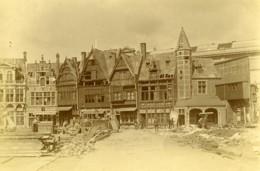 France Paris Expo 1900 Construction Du Vieux Paris Ancienne Photo - Places