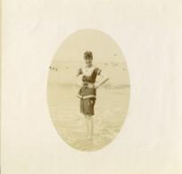 Nord De La France Bains De Mer Ancienne Photo 1900 - Photographs