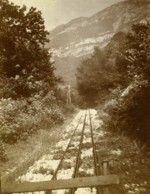 France Chemin De Fer à Cremaillere Ancienne Photo 1900 - Photographs