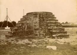 Chine Pékin La Colline Ronde? Monument Ancienne Photo 1900 - Photographs