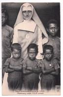 3094 - Papouasie-Nouvelle Guinée - Missionnaires Du Sacré-Coeur D'Issoudun  - Soeur Missionnaire Ecole De Yule - - Papouasie-Nouvelle-Guinée