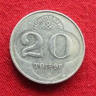 Mongolia 20 Tugrik 1994 KM# 122  Mongolie - Mongolie