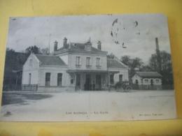 L11 4655 RARE CLICHE CPA 1906 - 27 LES ANDELYS. LA GARE - ANIMATION. ATTELAGE - Les Andelys