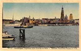 ANTWERPEN - Algemeen Zicht Schelde En Stad - Antwerpen