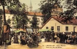 BRUXELLES - Vieux Marché - Place Du Jeu De Balles - Marchés