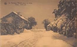 La Baraque Michel Sous La Neige - Hiver 1925-26 - Büllingen