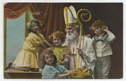 Sinterklaas / St Nicolas - Verstuurd (ca 1910) - Nikolaus