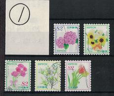 "Japan 2017.04.04 ""Omotenashi"" Flowers Series 8th (used)① - Used Stamps"