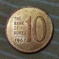 SOUTH KOREA - 10 WON - 1967 - KM  6 - UNC - Agouz - Korea, South