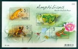 Thailand 2014 Amphibians, Frogs MS MUH - Thailand