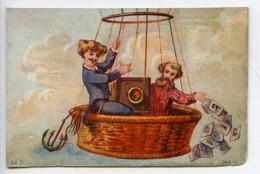 France Lille Chromo Publicitaire Photographe Le Blondel 1890 - Old Paper
