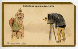 France Paris Chocolat Guerin Boutron Chromo Publicitaire Photographe 1890 - Andere