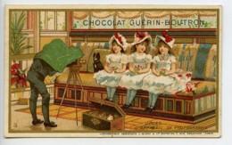 France Paris Chocolat Guerin Boutron Chromo Publicitaire Photographe 1890 - Old Paper