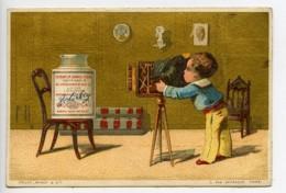 France Compagnie Liebig Chromo Publicitaire Recette Photographe 1890 - Alte Papiere