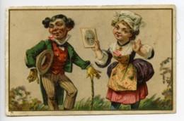 France Lille Watrelot Delespaul Chromo Publicitaire Photographe 1890 - Vieux Papiers