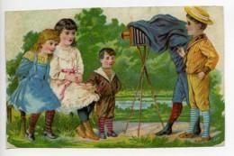 France Chromo Publicitaire Photographe Appareil Photo 1890 - Vieux Papiers