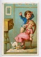 France Paris Maison Delachal Toiles Cirees Chromo Publicitaire Photographe 1890 - Altri