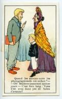 France Chromo Publicitaire Photographe Cliente Impatiente 1890 - Old Paper
