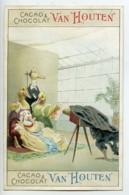 France Chocolat Cacao Van Houten Chromo Publicitaire Photographe 1890 - Vieux Papiers