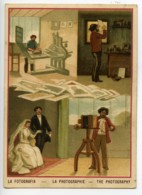 France Chromos Publicitaire Photographe Photographie 1900 - Vieux Papiers