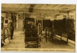 France Paris Carte Postale Atelier De Photographie De L'Illustration 1924 - Illustrators & Photographers
