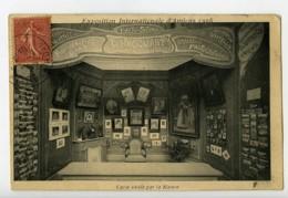 Amiens Expo Internationale Carte Postale Photographe Hacquart Decoration Wattelin 1906 - Illustrators & Photographers