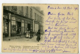 France Calais Boulevard Lafayette Carte Postale Photographe Maison Lefebvre 1900 - Illustrators & Photographers
