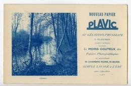 France Carte Photo Publicitaire Nouveau Papier Photographique Plavic Planchon 1900 - Illustrators & Photographers