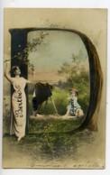 Allemagne Carte Postale Photo NPG Le Modele Du Photographe 1900 - Illustrators & Photographers
