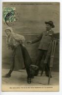 France Les Sables D'Olonnes Carte Postale Fantaisie Enfoncé Le Photographe 1900 - Illustrators & Photographers