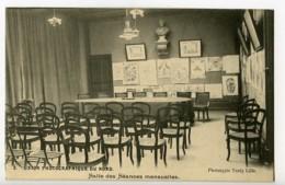 France Lille Carte Postale Union Photographique Du Nord Salle Des Seances 1900 - Illustrators & Photographers