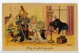 France Carte Postale Humoristique Chez Le Photographe De Rob Vel 1920 - Illustrators & Photographers