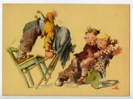 France Carte Postale Humoristique Enfants Photographe Casse Cou 1930 - Illustrators & Photographers