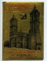 Mexique Puebla Etiquette Du 1er Salon International D'Arts Photographiques 1954 - Vieux Papiers