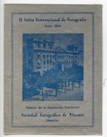 Espagne Alicante Etiquette Iie Salon Photographique International 1954 - Unclassified