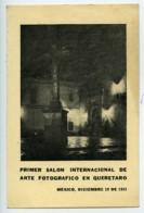 Mexique Queretaro Etiquette Premier Salon Photographique International 1953 - Old Paper