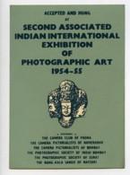 Indes Bombay Etiquette Iie Salon Photographique International 1954-1955 - Old Paper