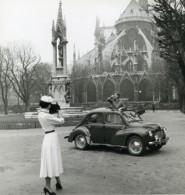 France Paris Publicité Renault Et La Mode Photographe Ancienne Photo 1960 - Professions