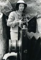 USA New York Le Photographe Martha MacRoberts Rolleiflex Ancienne Photo 1950 - Professions